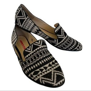 C Label Aztec Tribal Print Flats